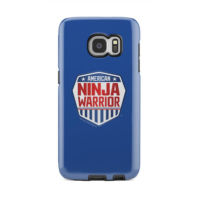 American Ninja Warrior Royal Blue Samsung Galaxy Tough Phone Case