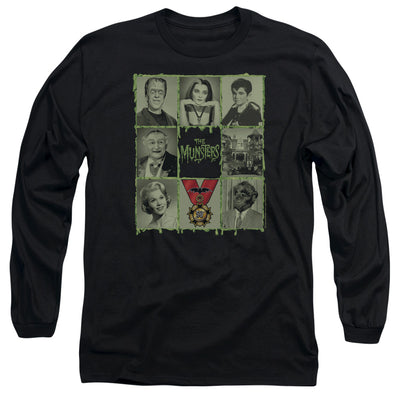 The Munsters Blocks Long Sleeve T-Shirt