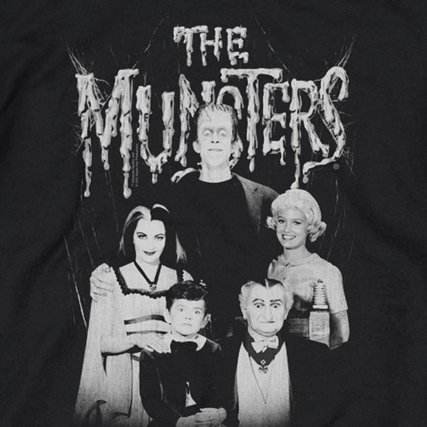 The Munster Family Portrait Crew Neck Sweatshirt
