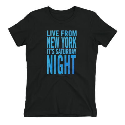 Saturday Night Live It's Saturday Night Women's Short Sleeve T-Shirt