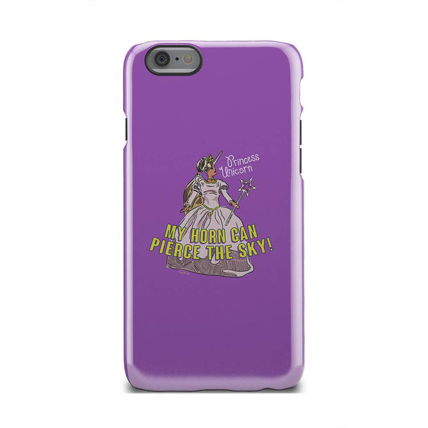 The Office Princess Unicorn iPhone Tough Phone Case