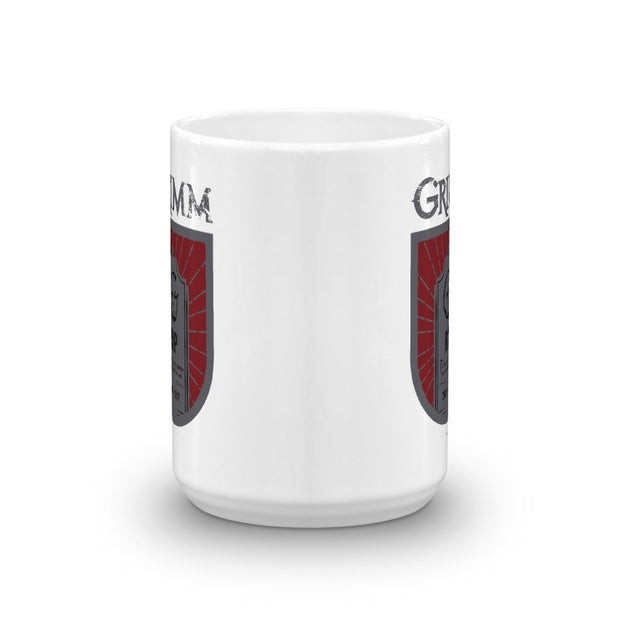 Grimm Hour of Departure White Mug