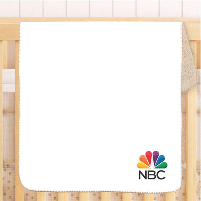 NBC Baby Sherpa Throw Blanket - 30 x 40