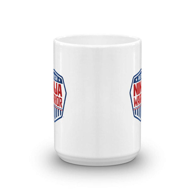 American Ninja Warrior White Mug