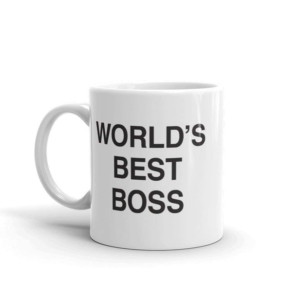 The Office World's Best Boss White Mug