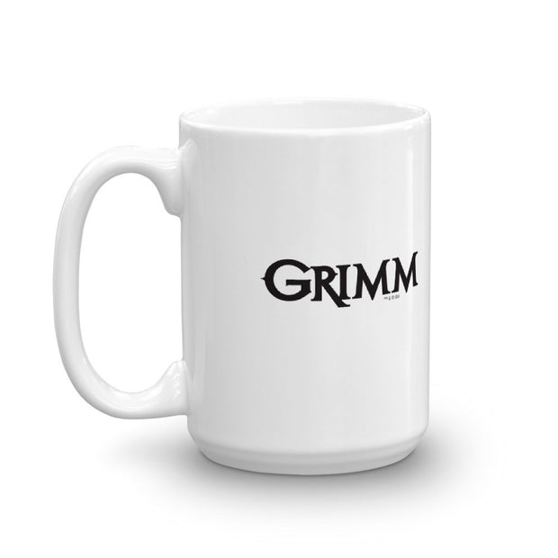 Grimm Rest in Peace White Mug