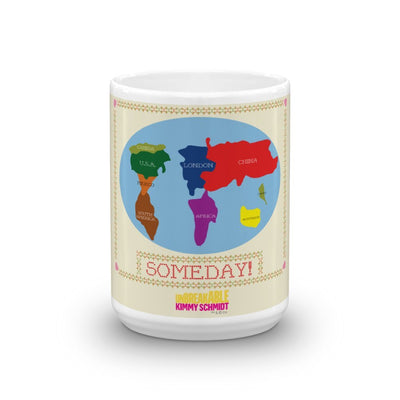 Unbreakable Kimmy Schmidt Someday Cross Stitch White Mug