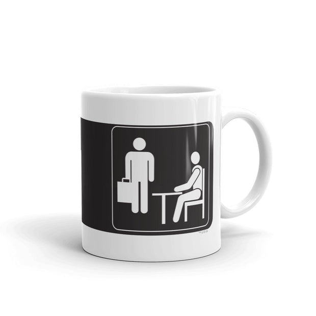The Office Full Official Sign White Mug