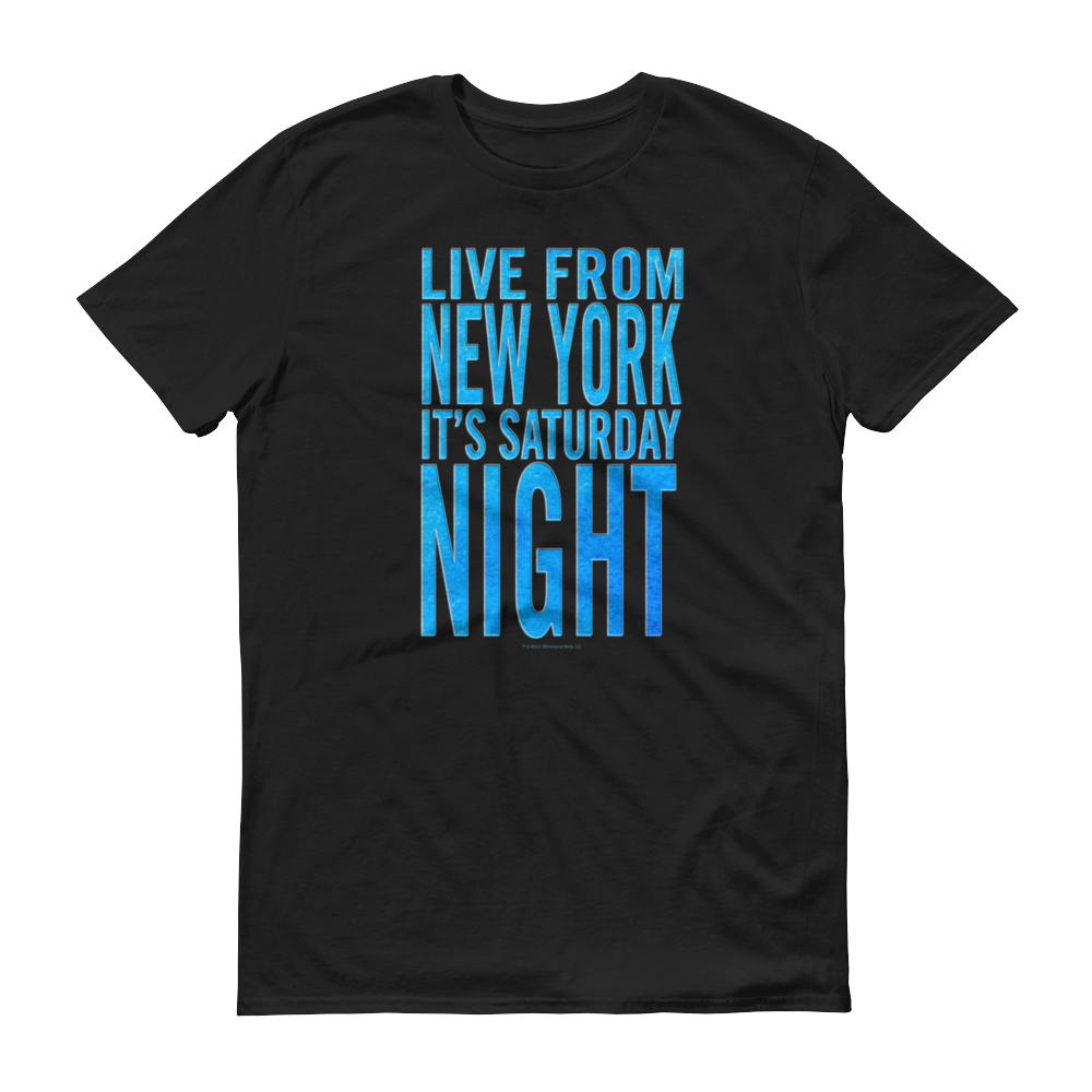 Saturday Night Live It's Saturday Night Men's Short Sleeve T-Shirt