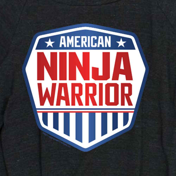 American Ninja Warrior Women's Tri-Blend Pullover Sweatshirt