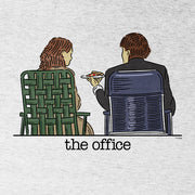 The Office Jim and Pam Roof Date Men's Tri-Blend Short Sleeve T-Shirt