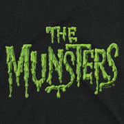 The Munsters Distress Logo Women's Short Sleeve T-Shirt