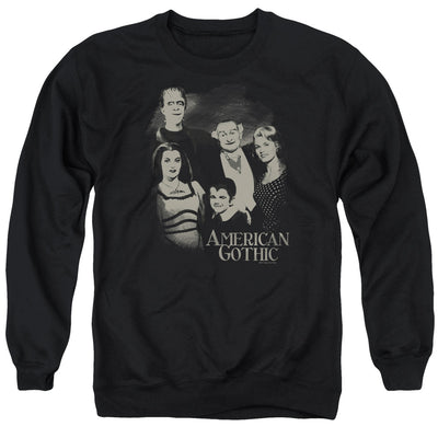 The Munsters American Gothic Crew Neck Sweatshirt