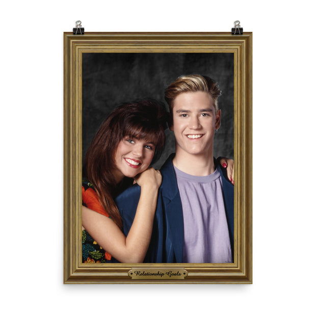 Saved By The Bell Relationship Goal Poster - 18 X 24