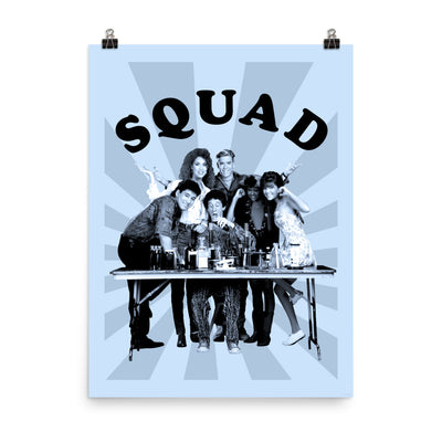 Saved By The Bell Squad Poster - 18 X 24