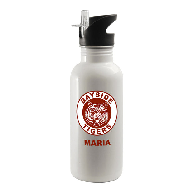 Personalized Saved By The Bell Bayside Tigers Water Bottle
