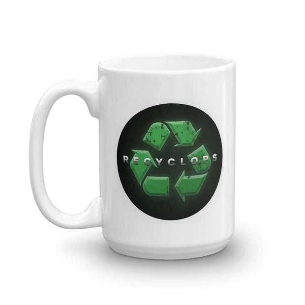 The Office Recyclops Recycle White Mug