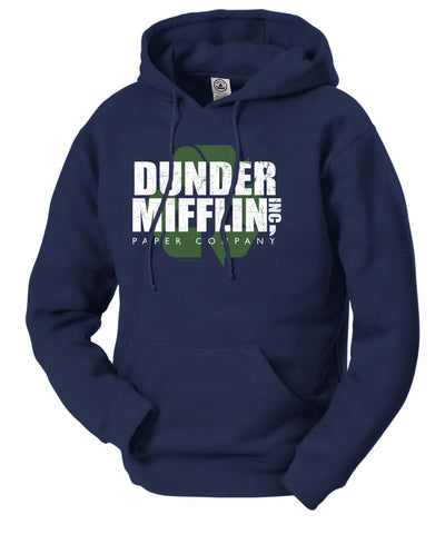 The Office Dunder Mifflin Recycle Hooded Sweatshirt