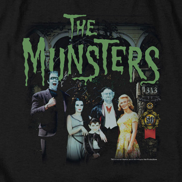 The Munsters 1313 50 Years Men's Short Sleeve T-Shirt