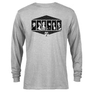 Saved By The Bell Black and White Cast Long Sleeve T-Shirt
