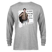 The Office Dwight Snakes Long Sleeve T-Shirt