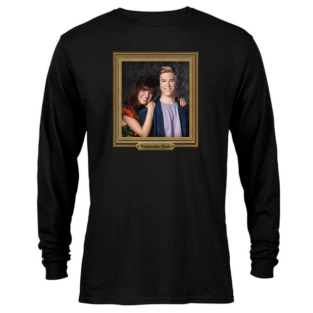 Saved By The Bell Relationship Goal Long Sleeve T-Shirt