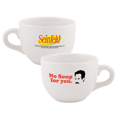 Seinfeld No Soup For You White Soup Mug