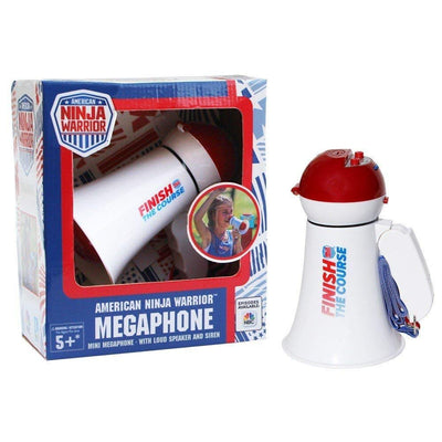 American Ninja Warrior™ Megaphone- with siren and announcing function