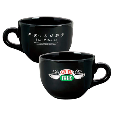 Friends Central Perk Latte Black Coffee Mug