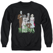The Munsters The Family Crew Neck Sweatshirt