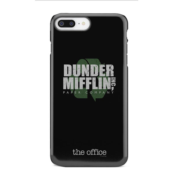 The Office Dunder Mifflin Recycle iPhone Tough Phone Case