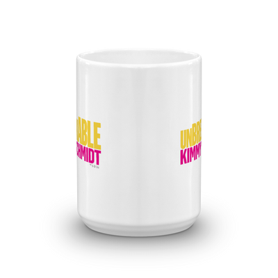 Unbreakable Kimmy Schmidt White Mug