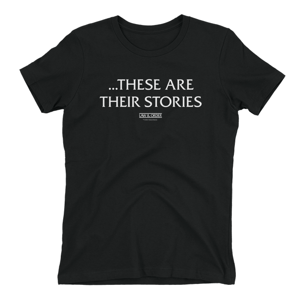 Law & Order These Are Their Stories Women's Short Sleeve T-Shirt