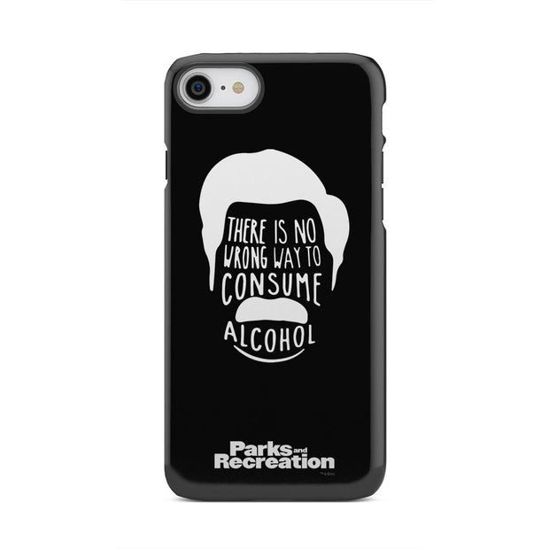 Parks and Recreation Ron Swanson iPhone Tough Phone Case