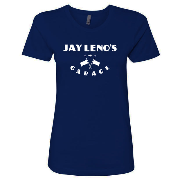 Jay Leno's Garage Original Vertical Logo Women's T-Shirt