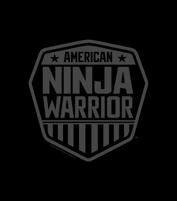 American Ninja Warrior Black Beach Towel - 30x60