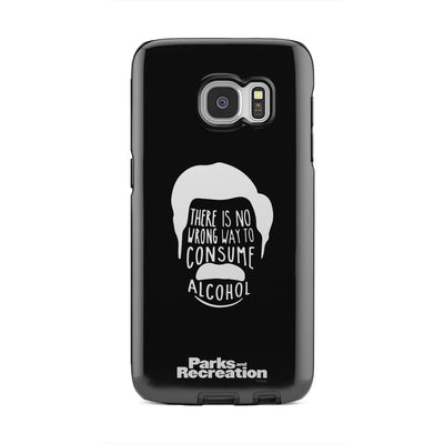 Parks and Recreation Ron Swanson Samsung Galaxy Tough Phone Cases
