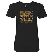 Grimm This Town is Getting Weird Women's Short Sleeve T-Shirt