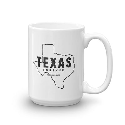 Friday Night Lights Texas Forever White Mug