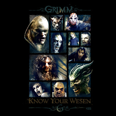 Grimm Know your Wesen Poster - 18x24
