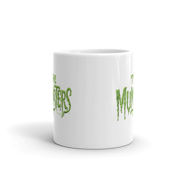 The Munsters Distress Logo White Mug
