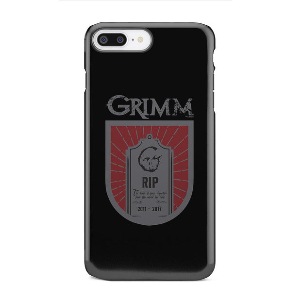Grimm Hour of Departure iPhone Tough Phone Case