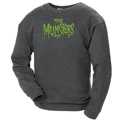 The Munsters Distress Logo Crew Neck Sweatshirt
