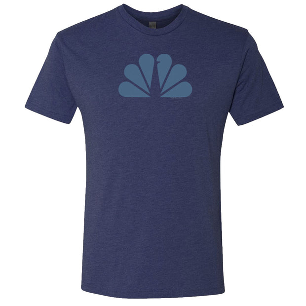 NBC Monochromatic  Men's Tri-Blend Short Sleeve T-Shirt