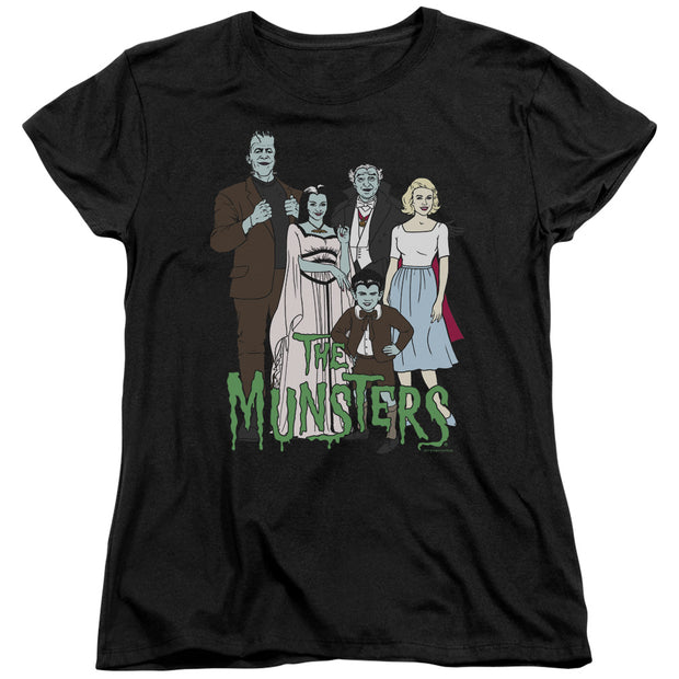 The Munsters The Family Women's Short Sleeve T-Shirt