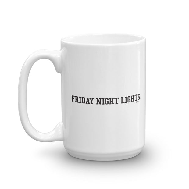 Friday Night Lights Riggins Rigs  White Mug
