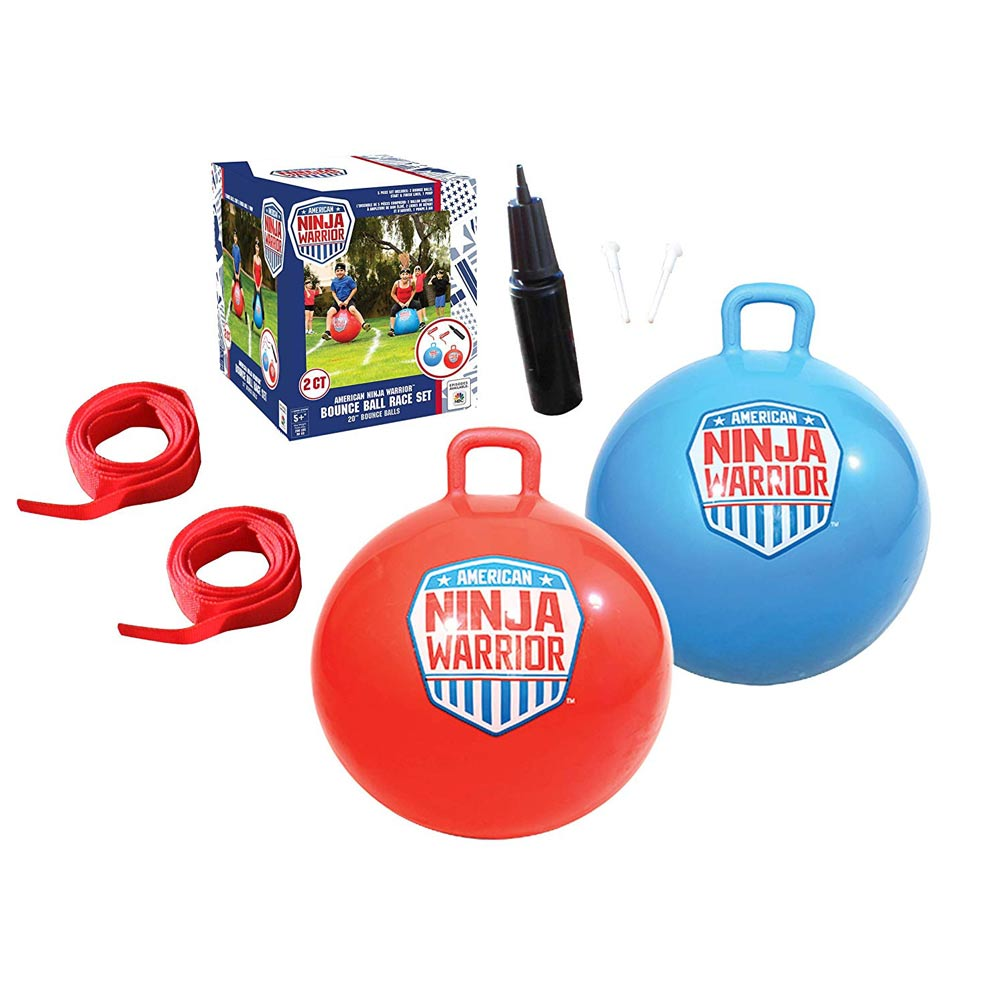 American Ninja Warrior™ Race Hop Ball Set - Set of 2 20