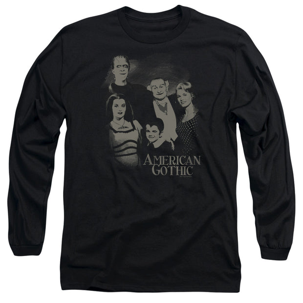 The Munsters American Gothic Long Sleeve T-Shirt