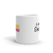 Unbreakable Kimmy Schmidt I am an Enigma White Mug
