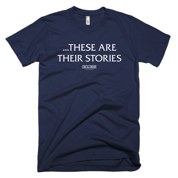 Law & Order These Are Their Stories Men's T-Shirt